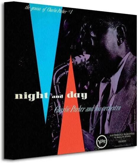 Vászonkép Charlie Parker (Night and Day) 40x40cm WDC95150