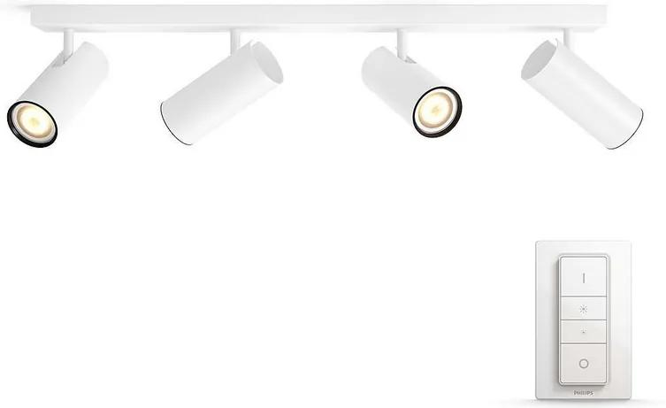 Philips LED Dimmelhető spotlámpa Philips HUE BURATTO 4xGU10/5,5W/230V P2383