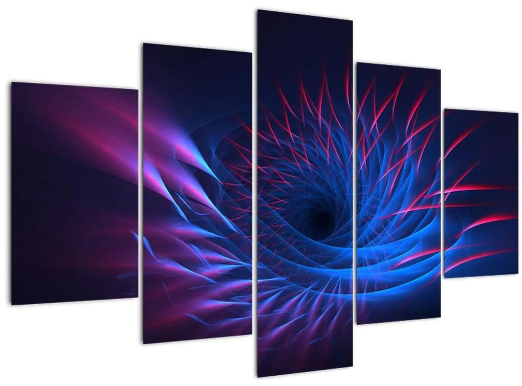 Kép - virág absztrakció (150x105 cm)