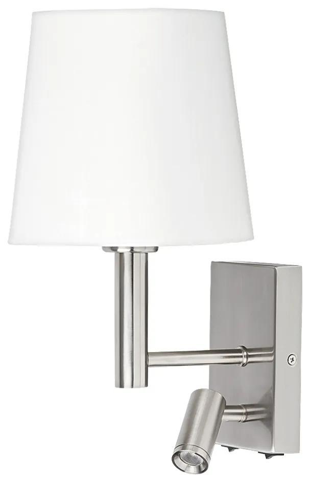 Rabalux Rabalux 6539 - Fali lámpa HARVEY E27/40W + LED/3W RL6539
