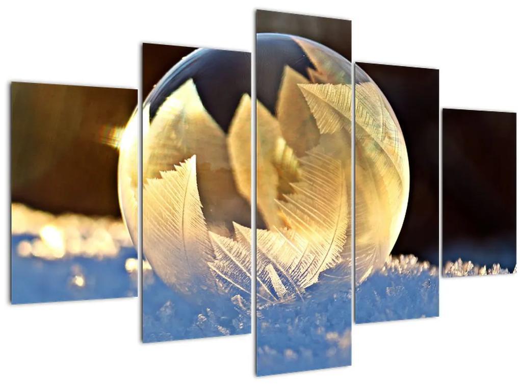 Kép - fagyott buborékok (150x105 cm)
