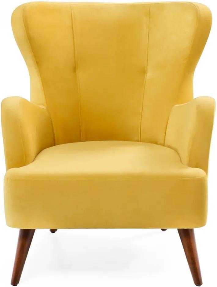 Home Jane sárga füles fotel - Balcab