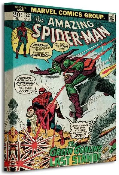 Vászonkép Marvel Spider-Man (Green Goblin) 30x40cm WDC92205