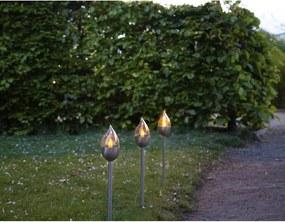 Olympus 3 db kültéri lámpa LED dekoráció - magasság 40 cm - Star Trading