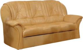 COM-Anett 3 személyes bőr kanapé