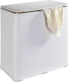Wanda fehér összecsukható szennyestartó, 65 l - Wenko