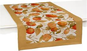 Oranges 2 db asztali futó - Linen Couture