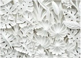 Alabaster Garden nagyméretű tapéta, 300 x 210 cm - Bimago