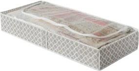 Bézs ágy alatti tároló, hosszúság 107 cm - Compactor