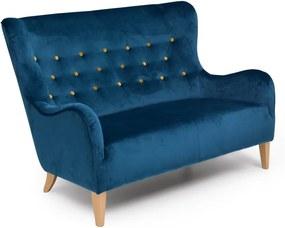 Medina kétszemélyes kék színű kanapé - Max Winzer