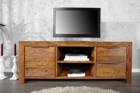 LAGOS tömör rózsafa TV állvány