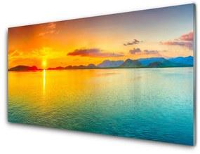 Akrilkép Sea Sun Landscape 140x70 cm
