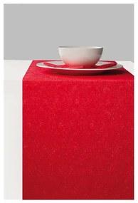 Elegance red papír asztali futó
