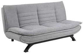 Ízléses ágyazható kanapé Alun 196 cm - világos szürke