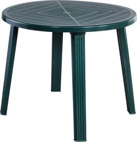 Genova kerti asztal zöld