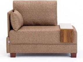 Fly Bal barna egyszemélyes kanapé