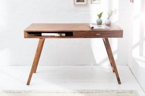 RETRO rózsafa íróasztal 120cm