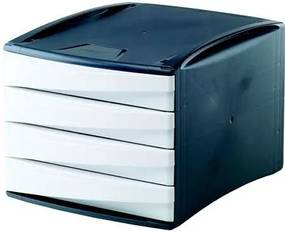FELLOWES 4 fiókos irattároló, műanyag, FELLOWES