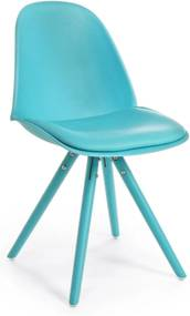 CHELSEA pávakék szék