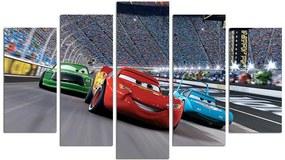 Cars ötrészes kép