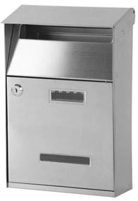 STR GL-16S rozsdamentes acél postafiók 32x21,5x10,5 cm (252268)