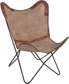 EATON barna fotel