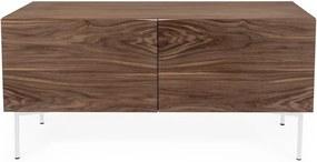 Flop barna tölgyfa komód, 65 x 120 cm - Woodman