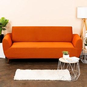 4Home Comfort Multielasztikus kanapéhuzat terracotta, 180 - 220 cm