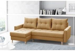 NAZIO THREE ágyazható sarok ülőgarnitúra, 220x90x140, malmo 41
