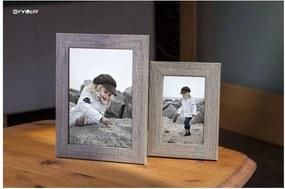 Narvik szükésbarna képkeret, 36 x 46 cm - Styler
