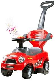 BAYO | Bayo Super Coupe | Zenélő bébitaxi 3az1-ben Bayo Super Coupe red | Piros |