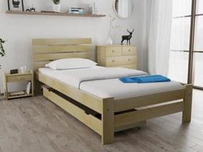Magnat PARIS magasított ágy 90x200 cm, fenyőfa Ágyrács: Ágyrács nélkül, Matrac: Deluxe 15 cm matraccal