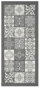 Maiolica szürke futószőnyeg, 55 x 140 cm - Floorita