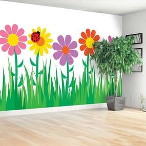 Fotótapéta virágok 104x70