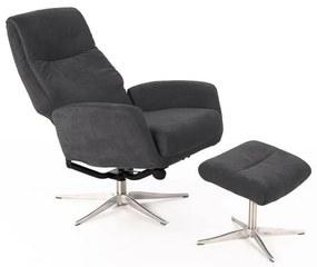 MONSA design kényelmi fotel beige/szürke/türkiz