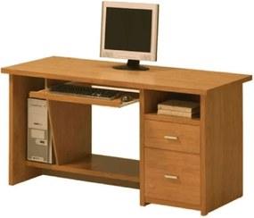 Oscar K76_150,4 Számítógépasztal - cseresznye
