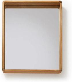 Sunday teakfa tükör, 80 x 65 cm - La Forma
