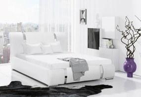 kárpitozott ÁGY VIKI + matrac DE LUX, 120x200, madryt 1100