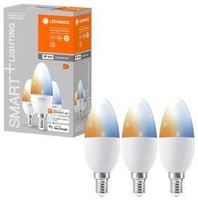 Ledvance SET 3x LED fényerő-szabályozós izzó SMART + E14 / 5W / 230V 2700K-6500K - Ledvance P224718