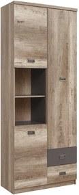 Polcos szekrény BFH2