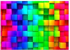 Cubes nagyméretű tapéta, 400 x 280 cm - Bimago
