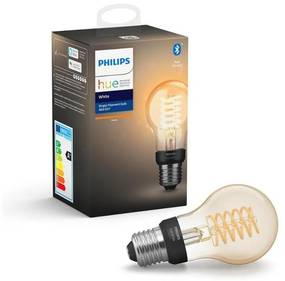 Philips LED Dimmelhető izzó Philips HUE WHITE FILAMENT A60 E27/7W/230V 2100K P3086