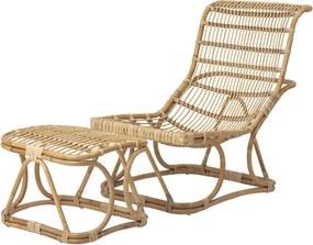 Eloise Lounge szék lábtartóval