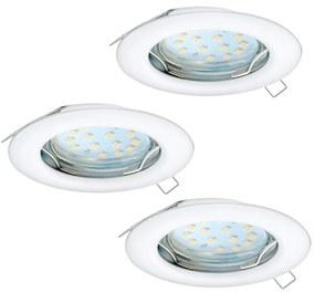 Eglo Eglo 94235 - SET 3x LED Beépíthető lámpa PENETO 3xGU10-LED/3W/230V EG94235