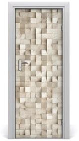 Ajtóposzter öntapadós fakockával 95x205 cm