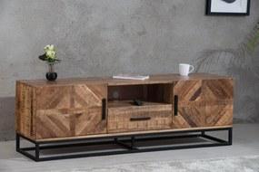 Stílusos TV asztal Allen 160 cm, mangó