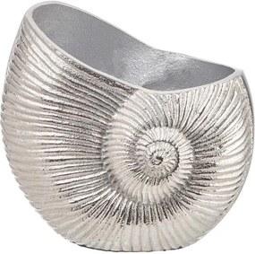 REEF váza/kaspó, ezüst kagyló 14 cm
