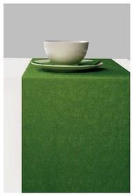 Elegance dark green asztali futó