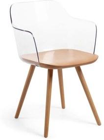Klam fotel tölgyfa lábakkal - La Forma