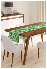 Green Jungle Leaves mikroszálas asztali futó, 45 x 145 cm - Minimalist Cushion Covers